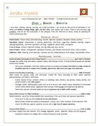 Pastry Chef Resume Examples by Professional Resume Cover Letter Sample Chef Resume Free