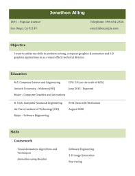 Free Download Resume Templates For Microsoft Word Free Resume Templates Examples Great 10 Ms Word Download In 93