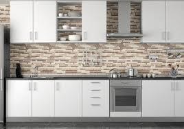 Small Kitchen Backsplash Ideas by Small Kitchen Decoration Using Brown Grey Glass Mosaic