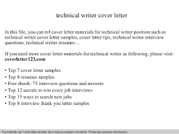 File Recover Technical Writer Cover Letter Materials Position     Suspensionpropack Com File Recover Technical Writer Cover Letter Materials Position Interview Question Resume Requirements