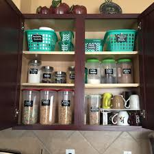 ideas to organize your kitchen cabinet all from the dollar tree
