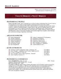 Program Manager Resume   berathen Com Brefash