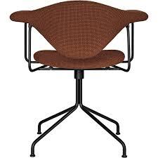 Swivel Chair Base Masculo Dining Chair Upholstered Swivel Base Gubi Horne
