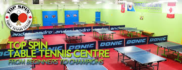 Topspin Table Tennis by Contact Us Top Spin Table Tennis Center