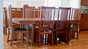 mission style dining chair how to build part 2 arts and crafts