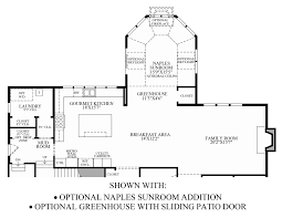 Sunroom Floor Plans by Hasentree Executive Collection The Wake Forest Home Design