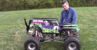monster truck show tucson grave digger monster truck 1 4 scale 1 10 remote control car
