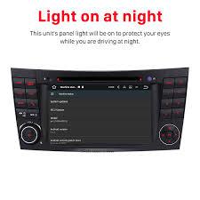 sat navi audio system mercedes benz clk w209 dvd player built in