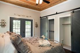 Sliding Barn Closet Doors by Small Bedroom Closet Doors 27 Linen Storage Ideas To Help You