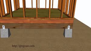 five ways how build shed floor design and construction five ways how build shed floor design and construction ideas youtube