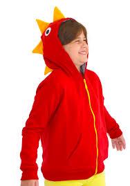 infant dinosaur halloween costume red dinosaur hoodie