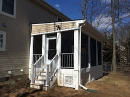 Screen Porch Roof by Decks Screened In Porches Pool Cabanas U2013 Coastal Trim And Design