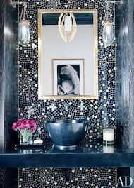 bold color bath design bold colors and mosaics