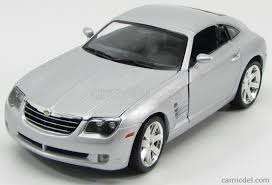 maisto 31140s scale 1 18 chrysler crossfire coupe 2005 silver