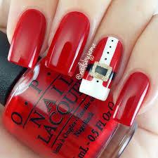 nails by jema santa suit nails u0026 video tutorial