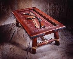 Display Coffee Table Chapman Designs Christina Chapman Leather Bonded Furniture And