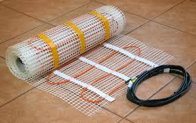 heated floors under laminate infrafloor radiant floor heating systems