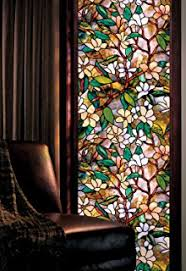 stained glass door film artscape first stained glass window film 24