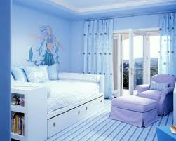 bedroom wall decorating ideas blue best modern design girls
