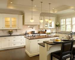 neutral kitchen ideas with wooden floor and glass wall also white