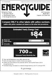 federal register energy labeling rule