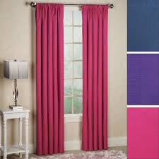 Blackout Curtain Panels Kendall Bright Thermaback Tm Blackout Curtain Panels