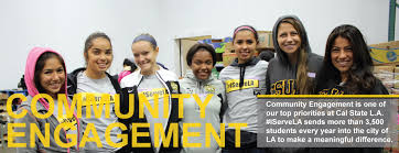 Admissions and Recruitment   California State University  Los Angeles     hashtag cal state l a community engagement