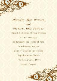 Printable Invitation Card Stock Printable Peacock Wedding Invitations Ewi156 As Low As 0 94