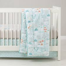 well nested branch u0026 acorn baby bedding the land of nod