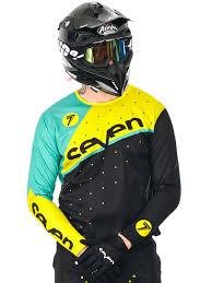 black friday motocross gear seven mx black yellow 2016 zero omni mx jersey seven mx