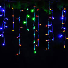 Blue Led String Lights by Online Get Cheap Blue Led Icicle Christmas Lights Aliexpress Com