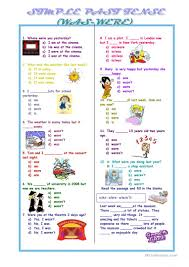 563 free esl past tense worksheets