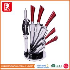 top brand bass stainless steel swiss knife set buy knife set