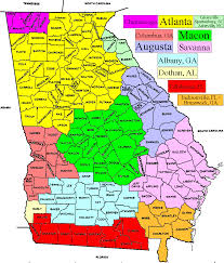 Florida Area Code Map by Tv Market Maps