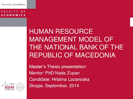 Phd thesis on strategic human resource management Free Essays and Papers