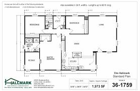 the hallmark standard floor plan hallmark southwest