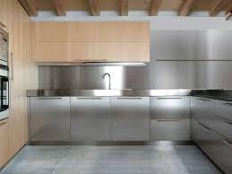 interior amazing stainless steel backsplash design inspiration