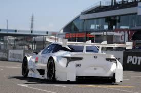 lexus hybrid race car the lexus lc 500 will go super gt racing in japan next year