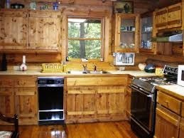 stylish log cabin kitchen ideas in home decor ideas with classic