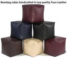 leather bean bags ebay