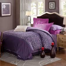Purple Bed Sets by Violet U0026 Purple Floral Print Comforter Sets Ebeddingsets