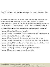 Sample Resume Objectives For Job Fair by Top8embeddedsystemsengineerresumesamples 150517030511 Lva1 App6891 Thumbnail 4 Jpg Cb U003d1431831954