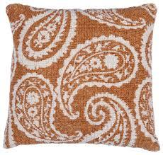 wholesale 18 x 18 inch brown u0026 white cushion cover cotton throw