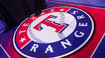 Texas Rangers Floor Logo | Nightcap