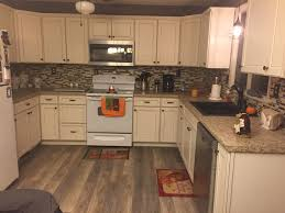 Remodeled Kitchens With White Cabinets by Lowes Caspian Off White Cabinets Off White Kitchen Cabinets
