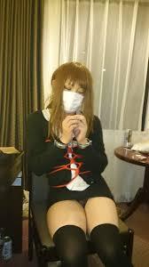 女装 黒桜琴美 射精|