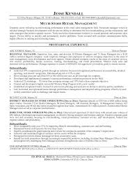 Customer Service Resume Skills Retail Manager Resume Template Resume For Your Job Application