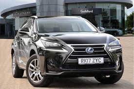 lexus glasgow jobs used 2017 lexus nx 300h 2 5 se 5dr cvt for sale in surrey