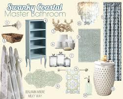 Coastal Bathroom Accessories by Swanky Coastal Master Suite Before U0026 After Coastal Family Rooms