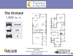 900 Sq Ft Floor Plans by Floorplans Freestone At Bayside